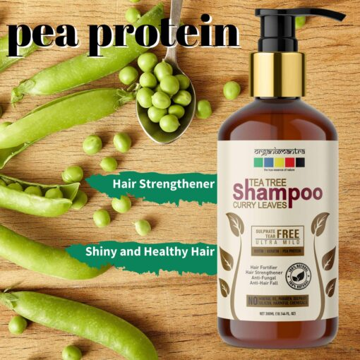 Hair Strengthener Healthy Hair Pea Protein Shampoo