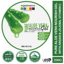 Pure Aloe Vera Nourish Gel with Argan Jojoba and Vitamin C - 250G